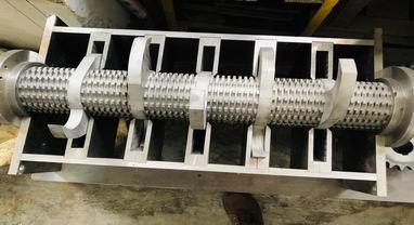 Low Speed Screenless Plastic Granulator