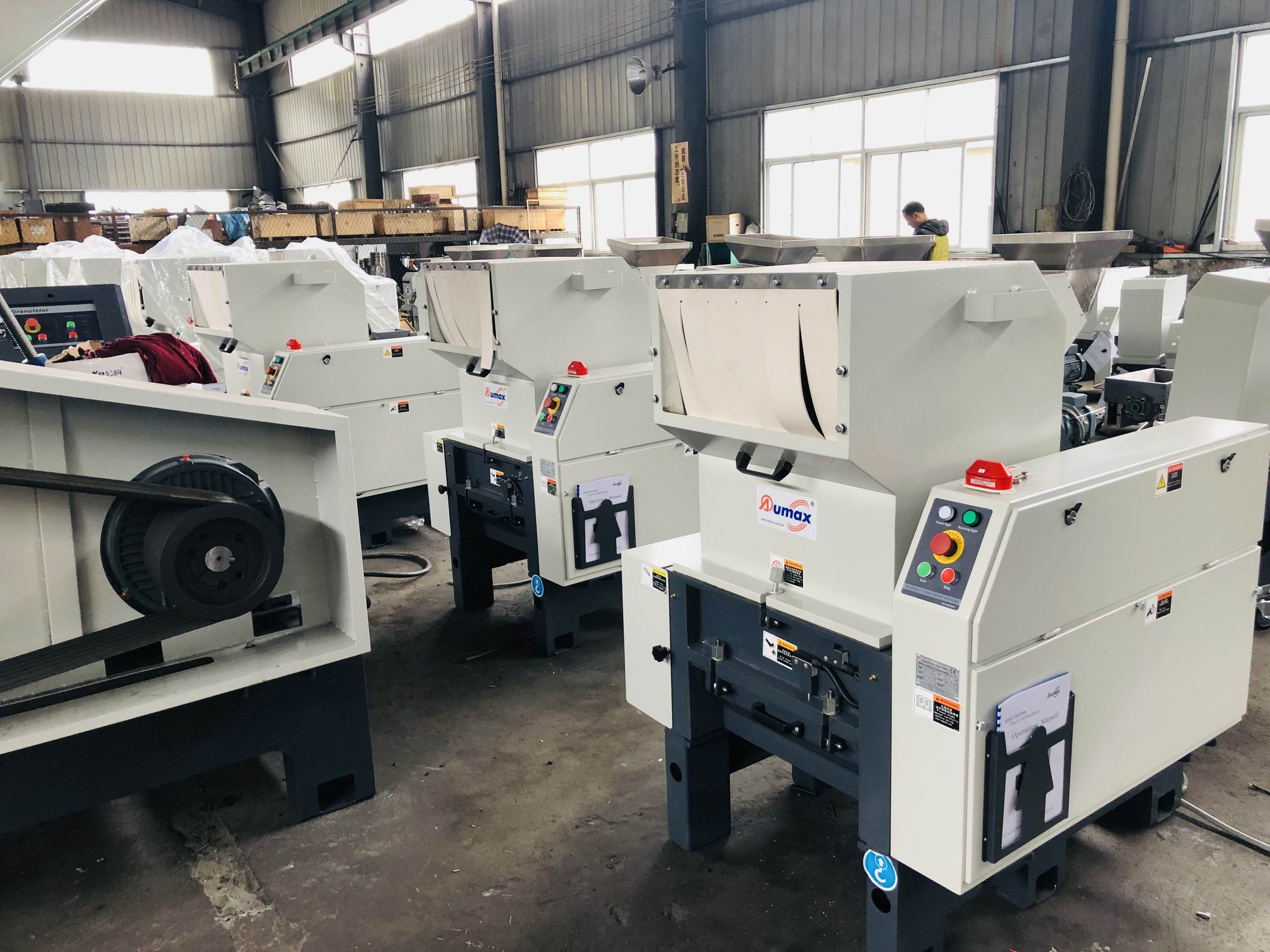 Inspection and mMaintenance of Plastic Crusher