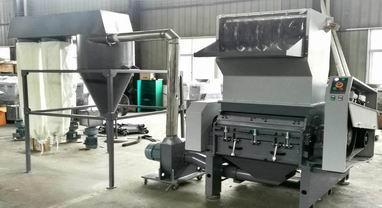 Aumax Plastic Film Crusher Recycling Machine