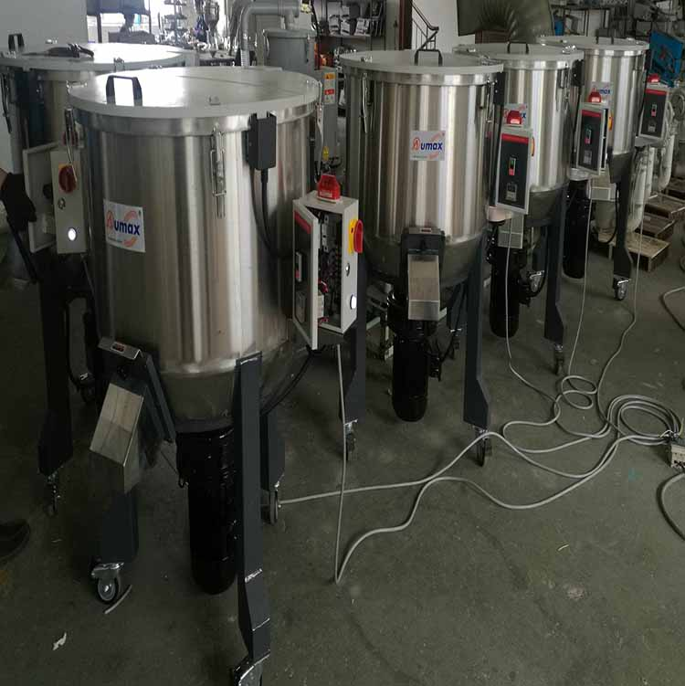 Vertical Plastic Color Mixer